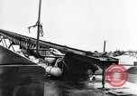 Image of V-1 charger and rocket mount and launch Germany, 1942, second 33 stock footage video 65675030733
