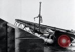 Image of V-1 charger and rocket mount and launch Germany, 1942, second 38 stock footage video 65675030733