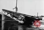 Image of V-1 charger and rocket mount and launch Germany, 1942, second 50 stock footage video 65675030733