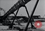 Image of V-1 charger and rocket mount and launch Germany, 1942, second 56 stock footage video 65675030733