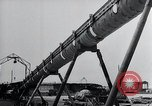 Image of V-1 charger and rocket mount and launch Germany, 1942, second 58 stock footage video 65675030733