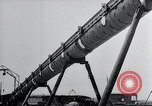 Image of V-1 charger and rocket mount and launch Germany, 1942, second 60 stock footage video 65675030733