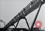 Image of V-1 charger and rocket mount and launch Germany, 1942, second 61 stock footage video 65675030733