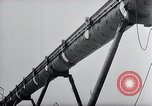 Image of V-1 charger and rocket mount and launch Germany, 1942, second 62 stock footage video 65675030733