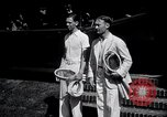 Image of Vines defeats Lott in Men's Singles Tennis Championship match Forest Hills New York USA, 1931, second 11 stock footage video 65675030764
