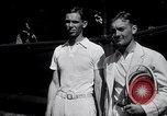 Image of Vines defeats Lott in Men's Singles Tennis Championship match Forest Hills New York USA, 1931, second 12 stock footage video 65675030764