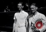 Image of Vines defeats Lott in Men's Singles Tennis Championship match Forest Hills New York USA, 1931, second 13 stock footage video 65675030764