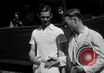 Image of Vines defeats Lott in Men's Singles Tennis Championship match Forest Hills New York USA, 1931, second 14 stock footage video 65675030764