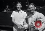 Image of Vines defeats Lott in Men's Singles Tennis Championship match Forest Hills New York USA, 1931, second 16 stock footage video 65675030764