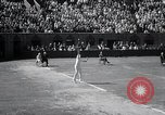 Image of Vines defeats Lott in Men's Singles Tennis Championship match Forest Hills New York USA, 1931, second 25 stock footage video 65675030764