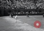 Image of Vines defeats Lott in Men's Singles Tennis Championship match Forest Hills New York USA, 1931, second 26 stock footage video 65675030764