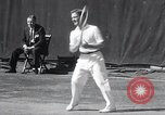 Image of Vines defeats Lott in Men's Singles Tennis Championship match Forest Hills New York USA, 1931, second 29 stock footage video 65675030764