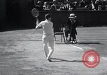 Image of Vines defeats Lott in Men's Singles Tennis Championship match Forest Hills New York USA, 1931, second 33 stock footage video 65675030764