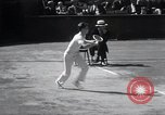 Image of Vines defeats Lott in Men's Singles Tennis Championship match Forest Hills New York USA, 1931, second 34 stock footage video 65675030764