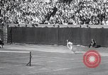 Image of Vines defeats Lott in Men's Singles Tennis Championship match Forest Hills New York USA, 1931, second 37 stock footage video 65675030764