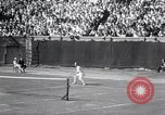 Image of Vines defeats Lott in Men's Singles Tennis Championship match Forest Hills New York USA, 1931, second 38 stock footage video 65675030764