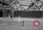 Image of Vines defeats Lott in Men's Singles Tennis Championship match Forest Hills New York USA, 1931, second 39 stock footage video 65675030764