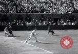 Image of Vines defeats Lott in Men's Singles Tennis Championship match Forest Hills New York USA, 1931, second 40 stock footage video 65675030764