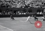 Image of Vines defeats Lott in Men's Singles Tennis Championship match Forest Hills New York USA, 1931, second 41 stock footage video 65675030764