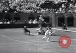 Image of Vines defeats Lott in Men's Singles Tennis Championship match Forest Hills New York USA, 1931, second 42 stock footage video 65675030764