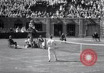 Image of Vines defeats Lott in Men's Singles Tennis Championship match Forest Hills New York USA, 1931, second 43 stock footage video 65675030764