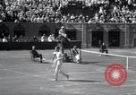 Image of Vines defeats Lott in Men's Singles Tennis Championship match Forest Hills New York USA, 1931, second 44 stock footage video 65675030764