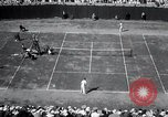 Image of Vines defeats Lott in Men's Singles Tennis Championship match Forest Hills New York USA, 1931, second 45 stock footage video 65675030764