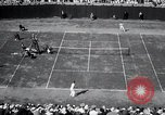 Image of Vines defeats Lott in Men's Singles Tennis Championship match Forest Hills New York USA, 1931, second 46 stock footage video 65675030764