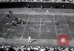 Image of Vines defeats Lott in Men's Singles Tennis Championship match Forest Hills New York USA, 1931, second 47 stock footage video 65675030764