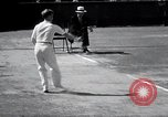 Image of Vines defeats Lott in Men's Singles Tennis Championship match Forest Hills New York USA, 1931, second 49 stock footage video 65675030764