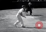 Image of Vines defeats Lott in Men's Singles Tennis Championship match Forest Hills New York USA, 1931, second 50 stock footage video 65675030764