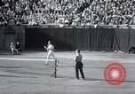 Image of Vines defeats Lott in Men's Singles Tennis Championship match Forest Hills New York USA, 1931, second 57 stock footage video 65675030764