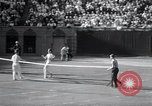 Image of Vines defeats Lott in Men's Singles Tennis Championship match Forest Hills New York USA, 1931, second 58 stock footage video 65675030764