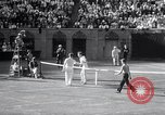 Image of Vines defeats Lott in Men's Singles Tennis Championship match Forest Hills New York USA, 1931, second 59 stock footage video 65675030764