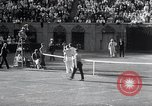Image of Vines defeats Lott in Men's Singles Tennis Championship match Forest Hills New York USA, 1931, second 60 stock footage video 65675030764