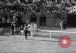 Image of Vines defeats Lott in Men's Singles Tennis Championship match Forest Hills New York USA, 1931, second 61 stock footage video 65675030764