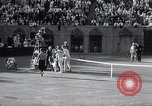 Image of Vines defeats Lott in Men's Singles Tennis Championship match Forest Hills New York USA, 1931, second 62 stock footage video 65675030764