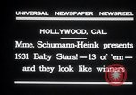 Image of Madame Schumann-Heink Hollywood Los Angeles California USA, 1931, second 4 stock footage video 65675030766
