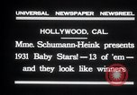 Image of Madame Schumann-Heink Hollywood Los Angeles California USA, 1931, second 8 stock footage video 65675030766