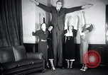 Image of Robert Wadlow Chicago Illinois USA, 1936, second 14 stock footage video 65675030774