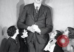 Image of Robert Wadlow Chicago Illinois USA, 1936, second 20 stock footage video 65675030774