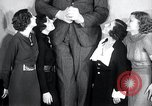 Image of Robert Wadlow Chicago Illinois USA, 1936, second 22 stock footage video 65675030774