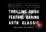 Image of car racing competition Los Angeles California USA, 1936, second 1 stock footage video 65675030777