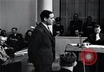 Image of Hanns Albin Rauter The Hague Netherlands, 1948, second 13 stock footage video 65675030786