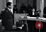 Image of Hanns Albin Rauter The Hague Netherlands, 1948, second 14 stock footage video 65675030786