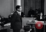 Image of Hanns Albin Rauter The Hague Netherlands, 1948, second 47 stock footage video 65675030786