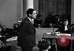 Image of Hanns Albin Rauter The Hague Netherlands, 1948, second 48 stock footage video 65675030786
