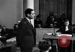 Image of Hanns Albin Rauter The Hague Netherlands, 1948, second 50 stock footage video 65675030786