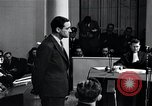 Image of Hanns Albin Rauter The Hague Netherlands, 1948, second 62 stock footage video 65675030786