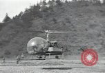 Image of US Army helicopters Korea, 1950, second 38 stock footage video 65675030811